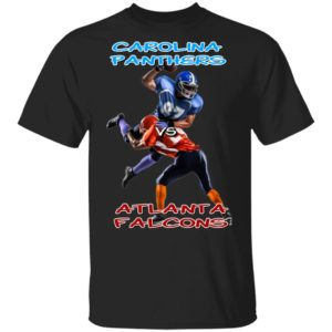 Carolina Panthers vs Atlanta Falcons Shirt Ls Hoodie