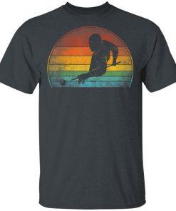 Billiards Player Retro Vintage T-Shirt Ls Hoodie