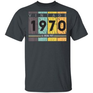 50th Birthday Vintage 1970 Classic 50 Years T-Shirt Ls Hoodie