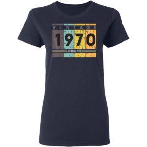 50th Birthday Vintage 1970 Classic 50 Years T-Shirt Ls Hoodie
