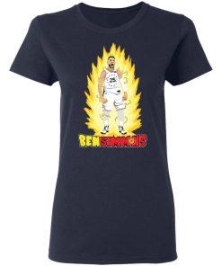 He's On Fire Ben Simmons Shirt Ls Hoodie