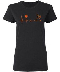 BBall Heartbeat Basketball Shirt Ls Hoodie