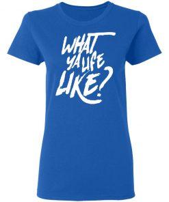 Mike Scott What Ya Life Like Shirt Ls Hoodie