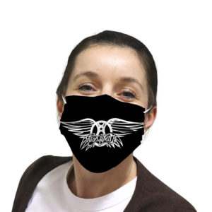 Aerosmith cloth face mask