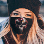 Arizona Cardinals The Punisher Mashup Face Mask