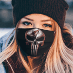 Arizona Coyotes The Punisher Mashup Face Mask