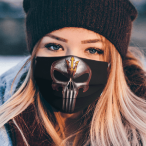 Arizona State Sun Devils The Punisher Mashup Face Mask
