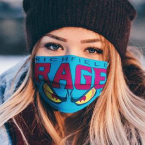 Charlotte Rage Arena Football Face Masks