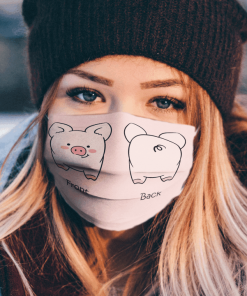 Cute Pig clother face mask us 2020