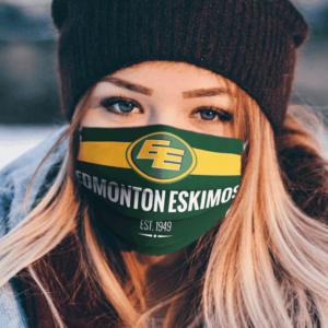 Edmonton Eskimos Flag US face mask