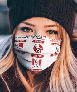 Logo KFC Chicken Cloth Face Masks