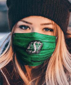 Logo Saskatchewan Roughriders Face Mask US