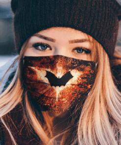 Logo The Dark Knight DC Comics Clother Face Mask US