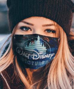 Logo Walt Disney Picture Face Mask