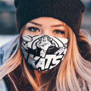 Nashville Kats Basball Team Cloth Face Mask