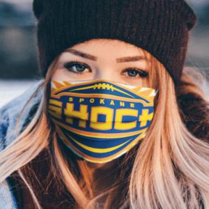 Spokane Shock Arena Football Face Mask