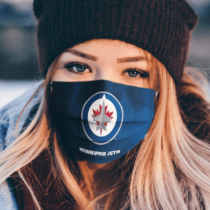 Winnipeg Jets cloth face mask