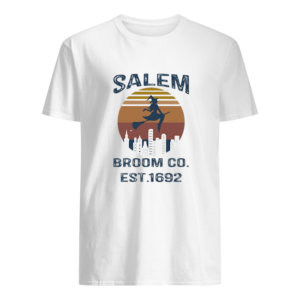 Witch Salem Broom Co Est 1692 Vintage T-shirt1