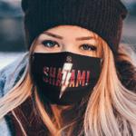 logo shazam Clother Face Mask US