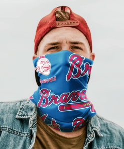 ATLANTA BRAVES HOOKEY NECK GAITER