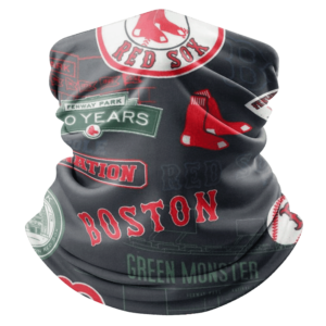 BOSTON RED SOX HOOKEY NECK GAITER