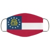 Flag of Georgia state face mask