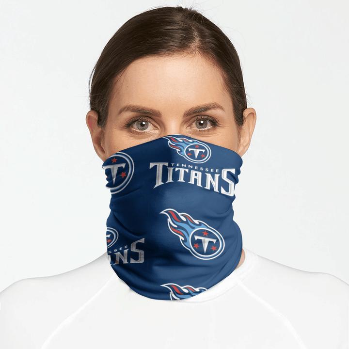 Balaclava /& Beanie Fleece Winter Neck Warmer Tennessee Titans Neck Gaiter Tube Ear Warmer Headband /& Face Mask