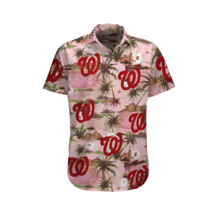 WASHINGTON NATIONALS BASEBALL HAWAII SHIRT