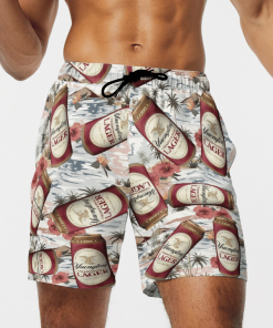 YUENGLING LAGER BEER BEACH SHORTS