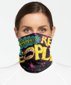 AAAHH! REAL PEOPLE FACE MASK NECK GAITER
