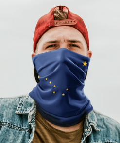 ALASKA FLAG FACE MASK NECK GAITER