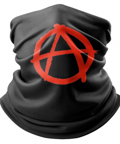 ANARCHY FLAG FACE MASK NECK GAITER