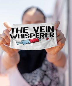 The Vein Whisperer face mask