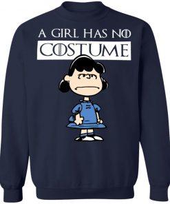 A Girl Has No Costume Halloween Lucy Van Pelt T-Shirt