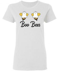 Boo Bee Cute Halloween Ghost Bees T-Shirt