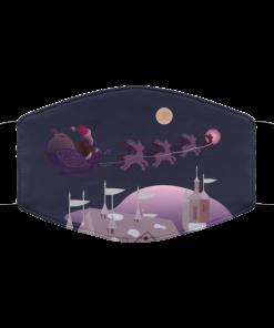 A Merry Christmas Ending Face Mask