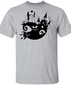 Love In Halloween Town Jack And Sally T-Shirt
