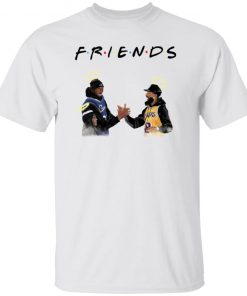 Friends Kobe Bryant and Chadwick Boseman T-shirt
