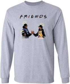 Friends Kobe Bryant and Chadwick Boseman T-shirt