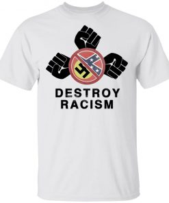 james Harden destroy racism T-Shirt