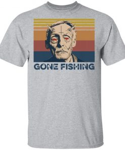 Albert Fish Gone Fishing T-Shirt
