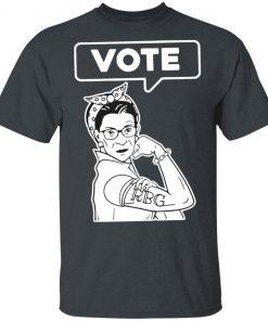 RIP Ruth Bader Ginsburg RBG VOTE T-Shirt