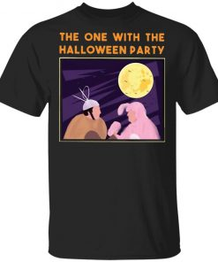 The One With The Halloween Party Chandler Bing Joey Vs Bunny T-Shirt