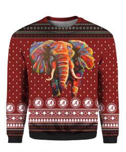 Alabama Crimson Tide Football 3D Christmas Ugly Sweater