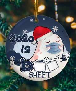 2020 Is Boo Sheet Funny Decorative Christmas Ornament Funny Holiday Gift
