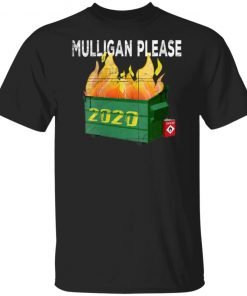 Womens Funny 2020 Dumpster Fire Golfer Mulligan Do Over Shirt