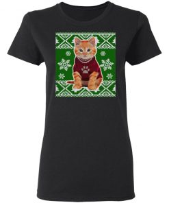 Cute Kitten Ugly Christmas Sweater