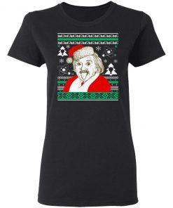 Albert Einstein Ugly Christmas Sweater