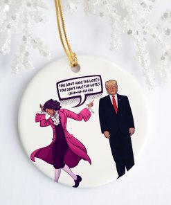 You Don't Have The Votes Flush The Turd Trump Funny Flat Circle Ornament