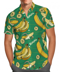 Amazing Bananas Hawaiian Shirt, Beach Shorts